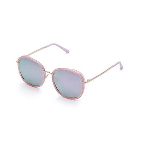 aire Blanco Excursionista Retro libre sol personalidad sol polarizadas solar estrella ultravioleta para Protección ocasionales UV400 de opcional al de Protección gafas gafas mujer Regalo Nueva de conducción rrqnPxF
