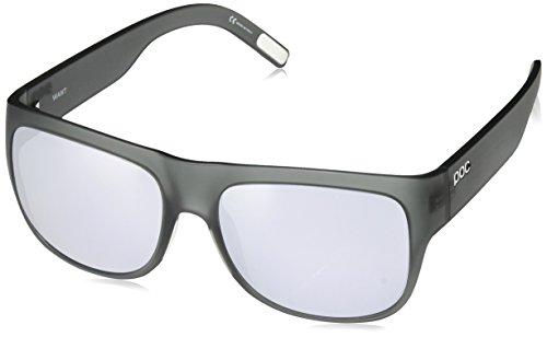 POC Want Sunglasses Uranium Black Translucent/Grey, One Size - - Poc Sunglasses