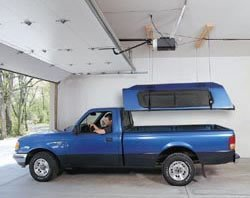 camper shell lift system - 3