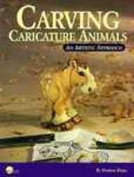 Carving Caricature Animals: An Artistic Approach