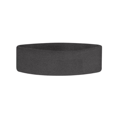 OADUS Thick Solid Color Terry Cloth Headband