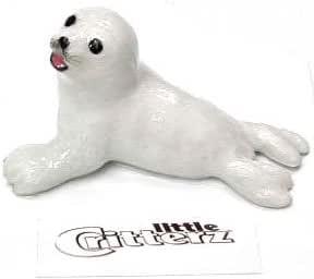 """Little Critterz Miniature Porcelain Animal Sea Turtle /""""Captain Deep/"""" LC205"""