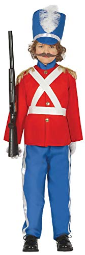 (Boys Red Tin Toy Soldier Nutcracker Christmas Xmas Little Drummer School Play Celebration Fancy Dress Costume Outfit (10-12)