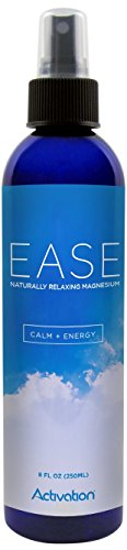 Activation Products EASE Magnesium Spray for Magnesium Deficiency, Joint and Muscle Pain, Leg Cramps, Eases Restless Legs, 8 ounces - Force Magnesium