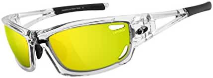 Tifosi Dolomite 2.0 1020105327 Wrap Sunglasses,Crystal Clear,61 mm