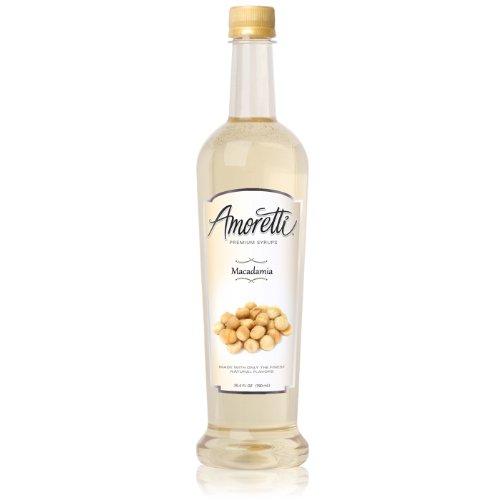 (Amoretti Premium Syrup, Macadamia, 25.4 Ounce)