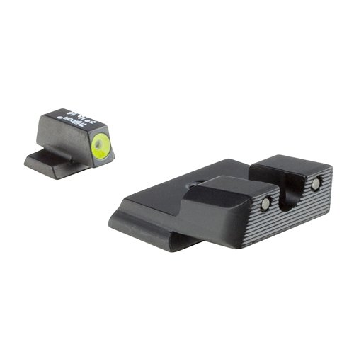 Trijicon S&W M&P Shield HD Night Sight Set, Yellow Front Outline