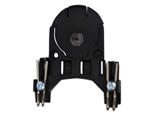 Fibre-Metal Hard Hat B3702 Clip-On Adapter for Non-Slotted Hard Hats (One Pair) ()