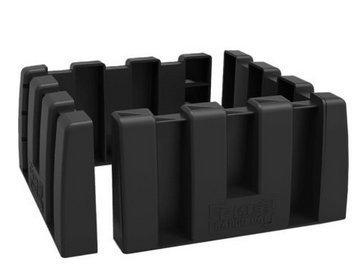 Multipurpose Cargo Organizer Blocks Car Trunk Storage Organizer Blocks, Available to Wool Trunk's Carpet for Car/Truck/SUV/Van, Set of 4 by YOFIT