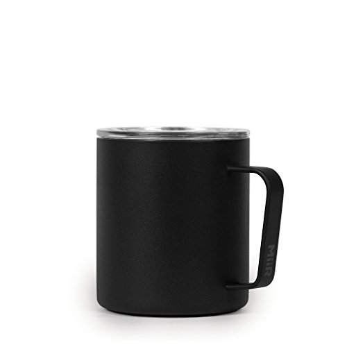 MiiR Insulated Camp Cup, Black, 12 Oz.