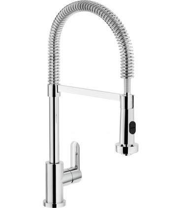 Nobili rubinetterie SA99300/3CR Miscelatore Lavello Cucina Bocca Alta, Cromo