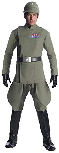 Charades Star Wars Imperial Officer Men's Costume, As Shown, X-Large (Star Wars Imperial Uniform)