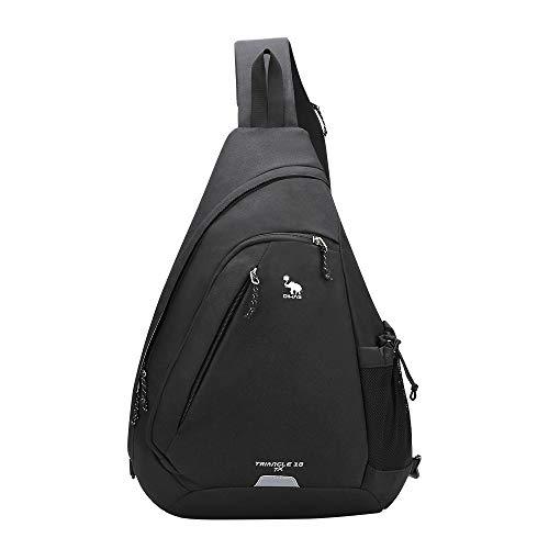 Kimlee OIWAS One Strap Backpack for Men Sling Backpack Crossbody Shoulder Bag Single Strap Daypack for Boys Women