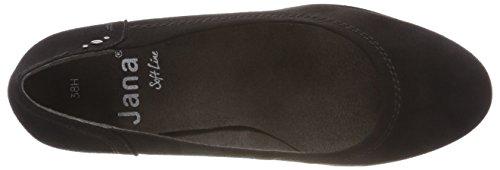 Donna black 001 Con Scarpe Nero Softline 22461 21 Tacco RT8qwX04