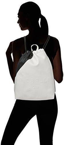 Fiorelli Sport Elite Monochrome - Borse a zainetto Donna, White (Bright Mix), 12x38x31 cm (W x H L)