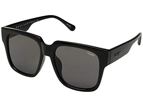 Quay Women's On The Prowl Sunglasses, Black/Smoke, One ()