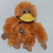 aflac-imposter-6-plush-talking-gorilla-orangutan-monkey-disguise-with-duck-bill