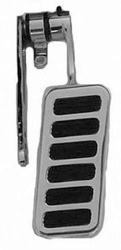 Racing Power Company R8600POL Polished Aluminum Gas Pedal with Steel Pad ()