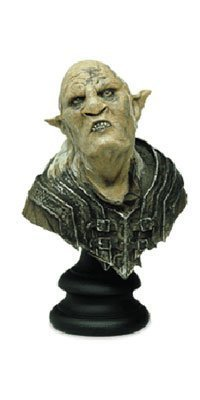 The Lord of the Rings Orc Overseer Bust By Sideshow by Lord of the Rings