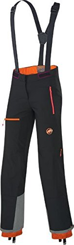 Mammut Eismeer Softshell Pant - Women's Black, 12/Short by Mammut