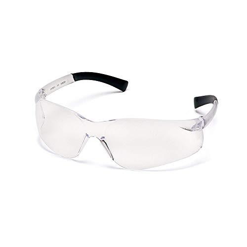 Pyramex Ztek Safety Glasses Clear Anti-Fog Lens S2510ST (12 Pair -
