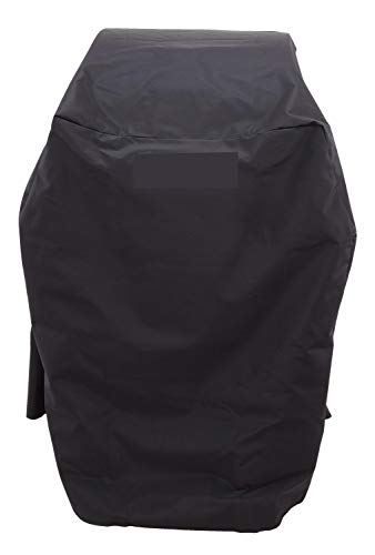 Hongso CB42 All-Season Grill Cover Replacement for Char-Broil 2 Burner Grill Cover, Black (32