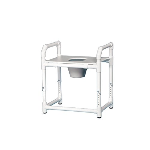Oversize Toilet Safety Frame W/Pail