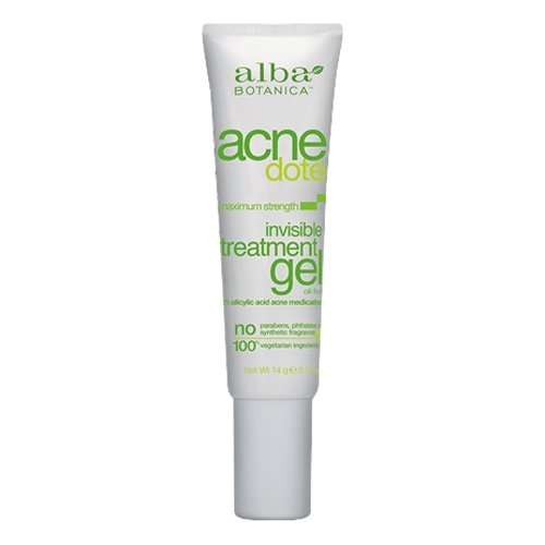 Alba Botanica Acnedote Invisible Treatment Gel, .5 oz (3 Pack)