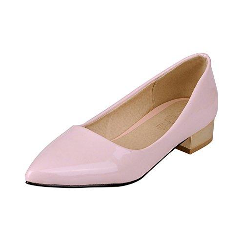 La versión coreana de la sharp crudo con zapatos bajos de charol/Zapatos de trabajo/zapatos de vestir B
