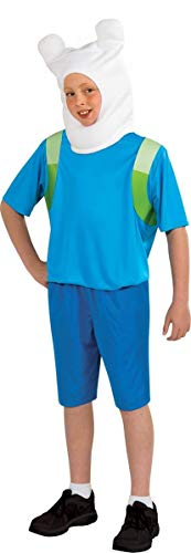 Adventure Time Child's Finn Costume, Large