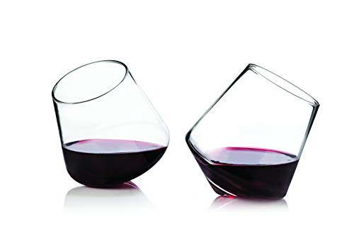 Viski 3720 Raye: Rolling Glasses, - Pointed Glass