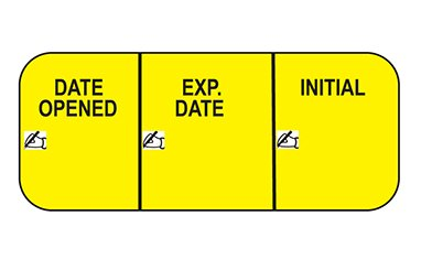 Health Care Logistics 17638 Label Date Opened 1000/Pk