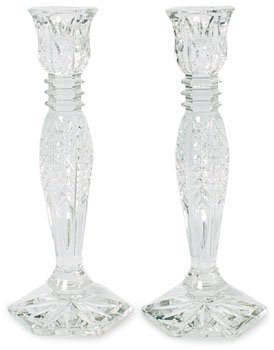 Waterford Bethany Candlestick Pair 10 ''