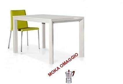 TABLES&CHAIRS tavolo bianco frassinato legno allungabile ...