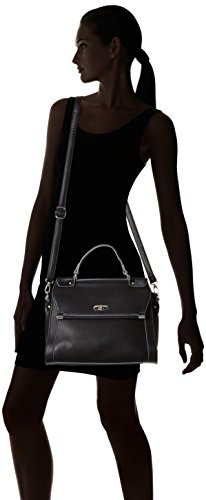 TamarisTIANA Handbag - Bolsa de Asa Superior mujer Negro