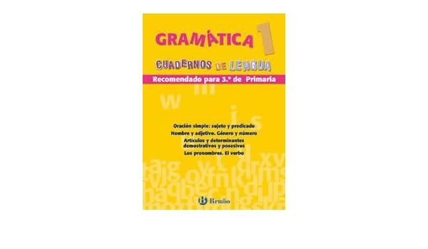 Gramatica 1, educacion primaria Cuadernos De Lengua Primaria: Amazon.es: Juan Cruz Martínez: Libros
