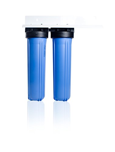 Apex 2-Stage Whole House Water Filtration System w/KDF -Removes Chlorine, Chloramine & Sediment