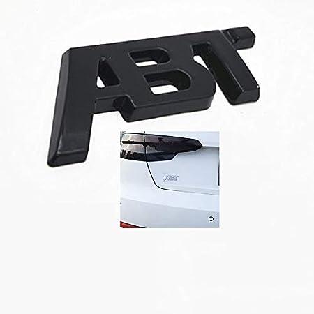 Audi RS3 Adesivo in Metallo per Sintonia Decorazione Decalcomania Logo Auto per Audi LDXCT 1 Pz Emblema Distintivo Griglia Auto