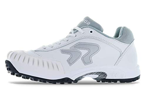 (Ringor Dynasty Turf Shoe- Pitching 8.5 White/Silver)