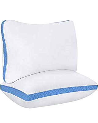 Utopia Bedding Gusseted Quilted Pillows By