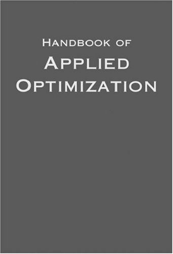 Handbook of Applied Optimization by Oxford University Press