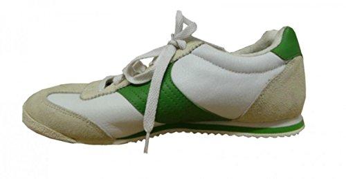 Vision Street wear Skateboard Shoes Sneakers Low Beige/green