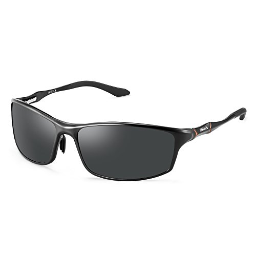 Soxick Men's Polarized Sunglasses UV400 Retro Unbreakable Metal Driving - For Sunglasses Used