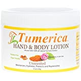 Tumerica Hand and Body Lotion, Unscented