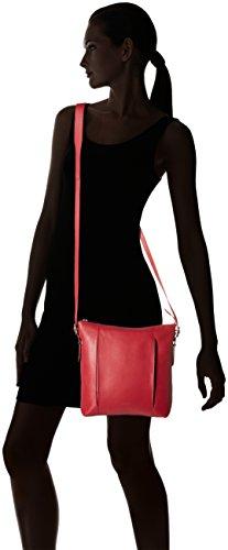 LE TANNEUR Capucine - portafoglio Donna, Rouge (Amour), 4x26x24 cm (W x H L)