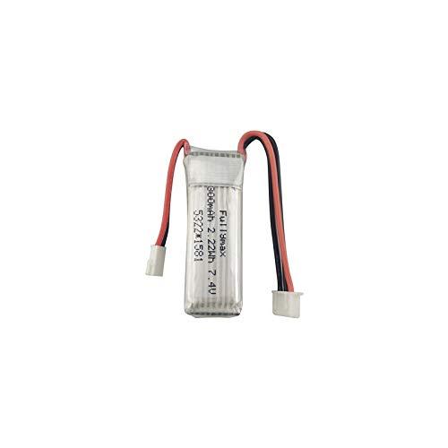 Fytoo Accessori 1PCS 7.4V 300mah Lipo Batteria e 1PCS Cavo di Ricarica USB per WLToys F959 XK DHC-2 A600 A700 A800 A430 Telecomando Glider Pezzi di Ricambio