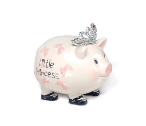 Mud Pie Baby Little Princess Giant Piggy Bank (Discontinu...
