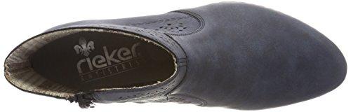 Rieker Women's Y0775 Boots, Blue Blue (Atlantis 14)
