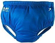 Speedo Unisex-Child Swim Diaper Keep Swimmin' Premium Electric Blue, X-L