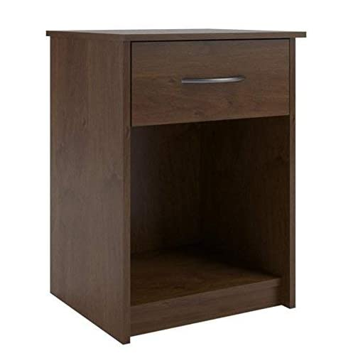 Ameriwood Home Core Night Stand, Bank Alder